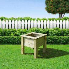 Square Wooden Flower & Plant Planters Boxes