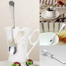 S Shape Stainless Steel Curved Spoon Coffee Hanging Cup Spoons Personality Gifts
