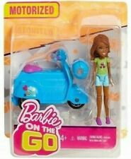 Barbie on the Go Motorized Vehicle and Doll with Green Shirt