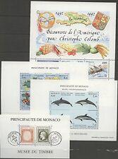 Monaco - 4 Bl. ** MNH 1992