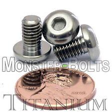 TITANIUM M5 x 8mm - DIN 9427 BUTTON HEAD Socket Cap Screw - BHCS - Ti Hex Allen
