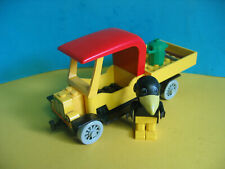 Lego Fabuland Auto 3634 Müllauto Mülltonne klein  Charlie Crow's Carry-All (1)