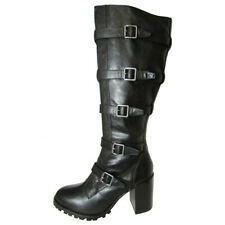 Report Signature Womens Anabelle Gladiator Style Knee High Boot