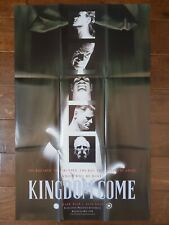 1996 DC KINGDOM COME COMIC PROMO POSTER 38x24 SUPERMAN WONDER WOMAN ALEX ROSS
