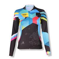 SPAKCT Cycling Comfortable Women Long Sleeve Jersey -Grasse Sport Coat New