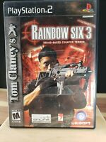 Rainbow Six 3 PlayStation 2 PS2 Video Game 2004