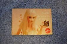 Vintage Living Barbie Fashion Booklet, Mattel 1969 Excellent