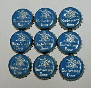 9 - BUDWEISER - CORK BEER BOTTLE CAPS - ST. LOUIS, MISSOURI