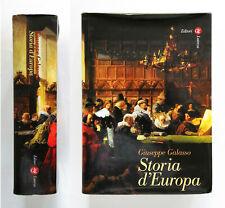 Storia d'Europa di Giuseppe Galasso Laterza 2001 (Parte 1, parte 2 e parte 3)
