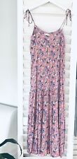 Auguste The Label Pink Floral Maxi Dress Size SM / 8