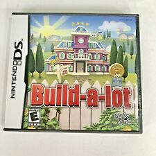 Build A Lot Nintendo DS Video Game With Case Instruction Booklet Cartridge 2006