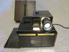 VINTAGE BELL & HOWELL SLIDE CUBE PROJECTOR MODEL 981Q TESTED WITHOUT SLIDES