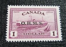nystamps Canada Official Stamp # O10 Mint OG H $70