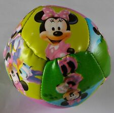 Minnie Mouse Soft Soccer Ball Disney Character Clubhouse Soft Ball
