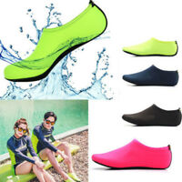 Women Men Water Shoes Aqua Socks Diving Socks Wetsuit Non-slip Swim Beach Shoes