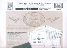 Trésors de la Philatelie Jeu yvert et  tellier supra 2017