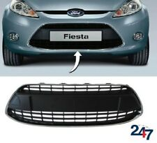 NEW FORD FIESTA VII 2008-2012 FRONT BUMPER LOWER CENTER GRILL WITH CHROME FRAME