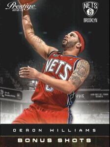 2012-13 Prestige #141 Deron Williams Brooklyn Nets NM Bonus Shots 121/249 Gold
