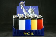 lots of 15 (3 Each Color) Gil Disposable Lighters