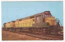 Chicago Northwestern C&NW Railroad Train RS-27 postcard