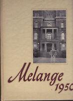 Lafayette College 1950 Melange Yearbook Easton Pennsylvania