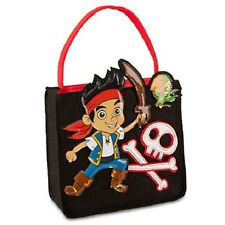 JAKE~ThE NeVeR LaNd PiRaTe~TRICK or TREAT BaG~Halloween~Costume~NWT~Disney Store