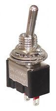 5 x Miniatur Kippschalter 1-polig 2 Kontakte 1 x Schließer 2 Stellungen 4311