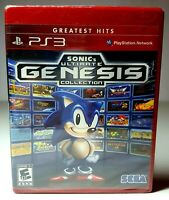 PS3 SONIC'S ULTIMATE GENESIS COLLECTION Video Game Brand New Factory Sealed