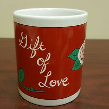 Valentine's Day The Gift of Love Red Coffee Mug