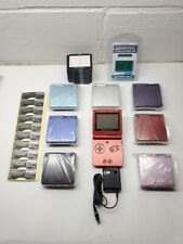 Nintendo Game Boy Advance SP Choose color Black Blue Silver Refurbish KIT DIY