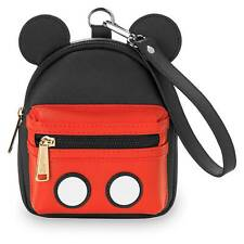 Nwt Loungefly Disney Convertible Mickey Mouse Wristlet Pack Fanny Waist Hip Bag