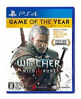 NEW PS4 PlayStation 4 Witcher 3 Wild Hunt Game of the Year Edition 13580 JAPAN