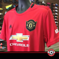 Manchester United adidas 2019-2020 Home Game Jersey