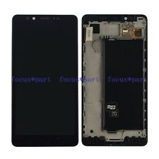 Microsoft Lumia Nokia 950 LCD Display Touch screen assembly +frame black