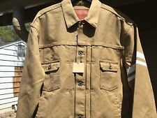 Momotaro Canvas Type 2 Jacket, Size 44, New With Tags, Made In Japan, $295