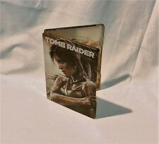 Tomb Raider Collectible Steelbook Case G1 XBox 360 (No Game)