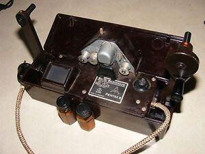 Vintage Pentax 8 Portable Cine Film Viewer Editor, Made in Germany, Scarce Item