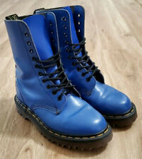 Dr Martens Womens Boots Size UK 4 US 6 England 1490 Blue