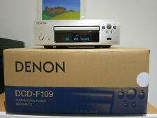 Denon CD Player DCD-F109 sehr guter Zustand mit Zubehör silber