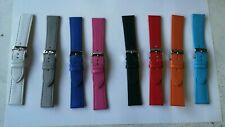 Sell a lot 1000 pcs mix colour leather watch strap band 20mm-22mm =379$