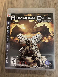 Armored Core: For Answer (Sony PlayStation 3, 2008) PS3 - COMPLETE