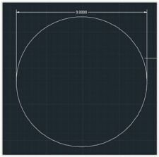 1pc Acrylic Plastic Plexiglass Round Sheet 316 X 9 Circle Clear
