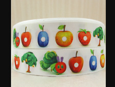 The Very Hungry Caterpillar Ribbon 1' wide 1m long (fruit)