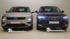 Modanatura Paraurto Anteriore inferiore acciaio Cromo Volkswagen TIGUAN 2016>
