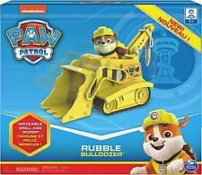 Paw Patrol ~ RUBBLE & BULLDOZER BOXED SET ~ Spin Master ~ Nickelodeon