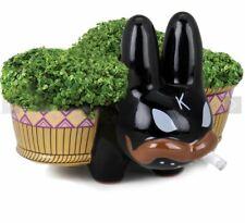 FRANK KOZIK x Kid Robot CHIA PET SMORKIN LABBIT BLACK Terracotta Limited Edition