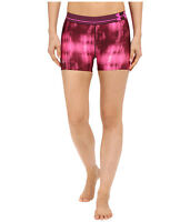 """UNDER ARMOUR WOMEN'S HEATGEAR COMPRESSION 3"""" PRINTED SHORTY PINK # 1270723-NWT"""