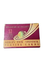 Unopened 1933 Century of Progress Playing Cards. Chicago World's Fair.