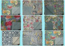 Indian Handmade Cotton Coverlets Home Bedding Blankets Kantha Quilts Bedspreads