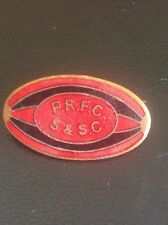 Vintage Portsmouth Rugby Union Football Club Ball Enamel Badge Pin Memorabilia